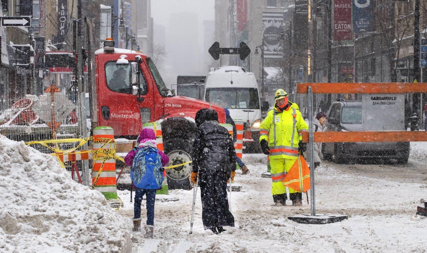 Infrastructures: des chantiers de 6,4milliards d'ici 2020 à Montréal