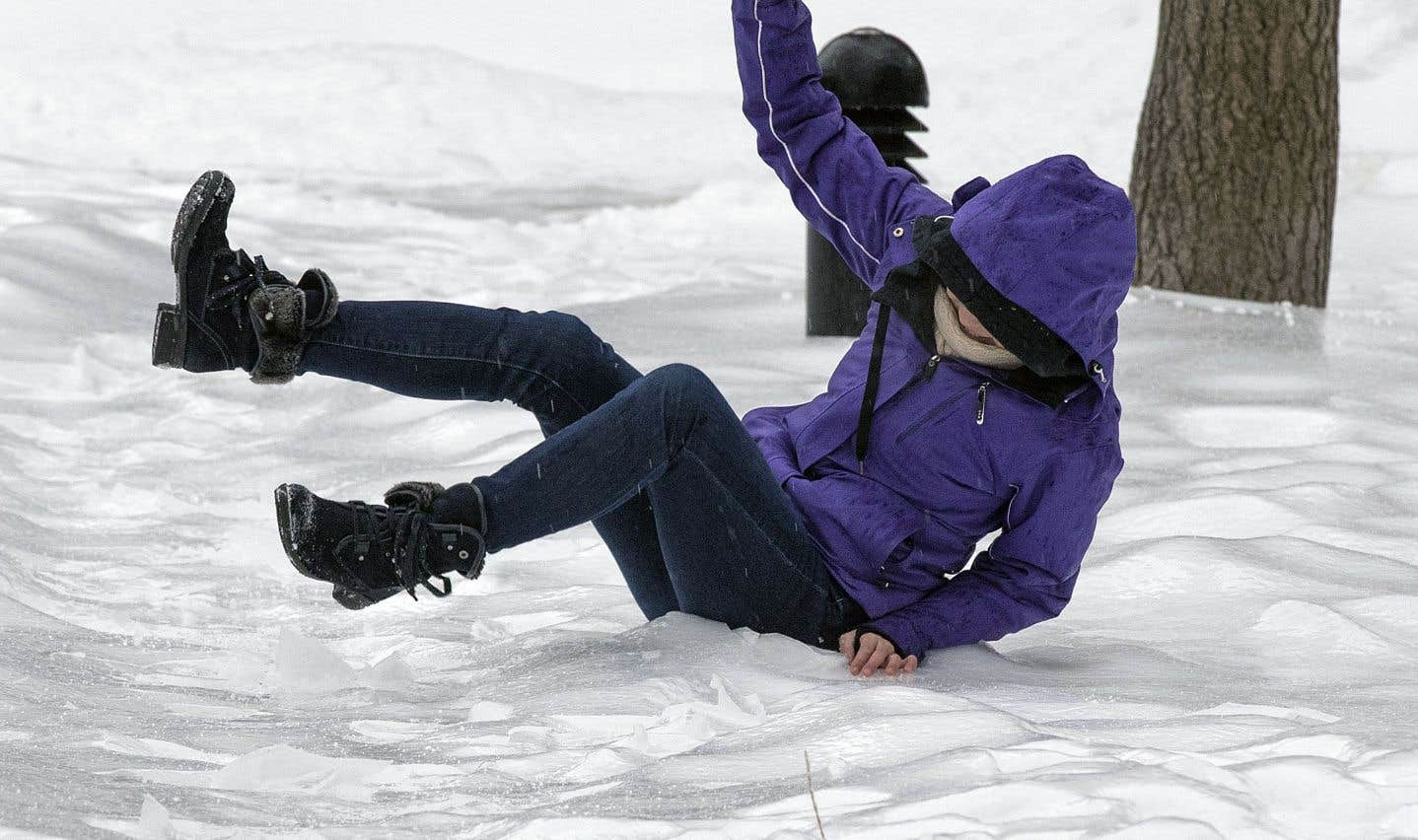 Le «croque-glace» dans la mire de Montréal pour venir à bout des trottoirs glissants