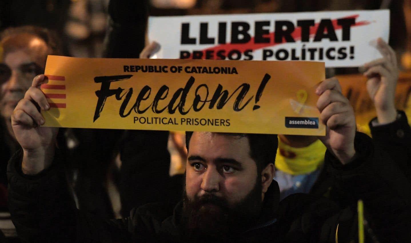Trois responsables catalans emprisonnés saisissent l'ONU