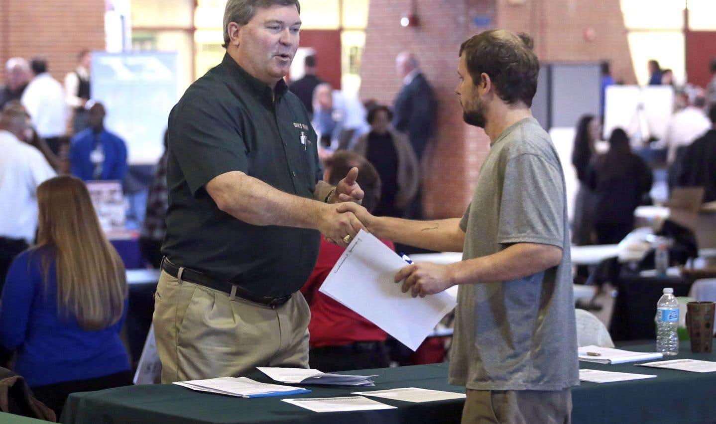 L'économie américaine a créé 200000 emplois nets en janvier.