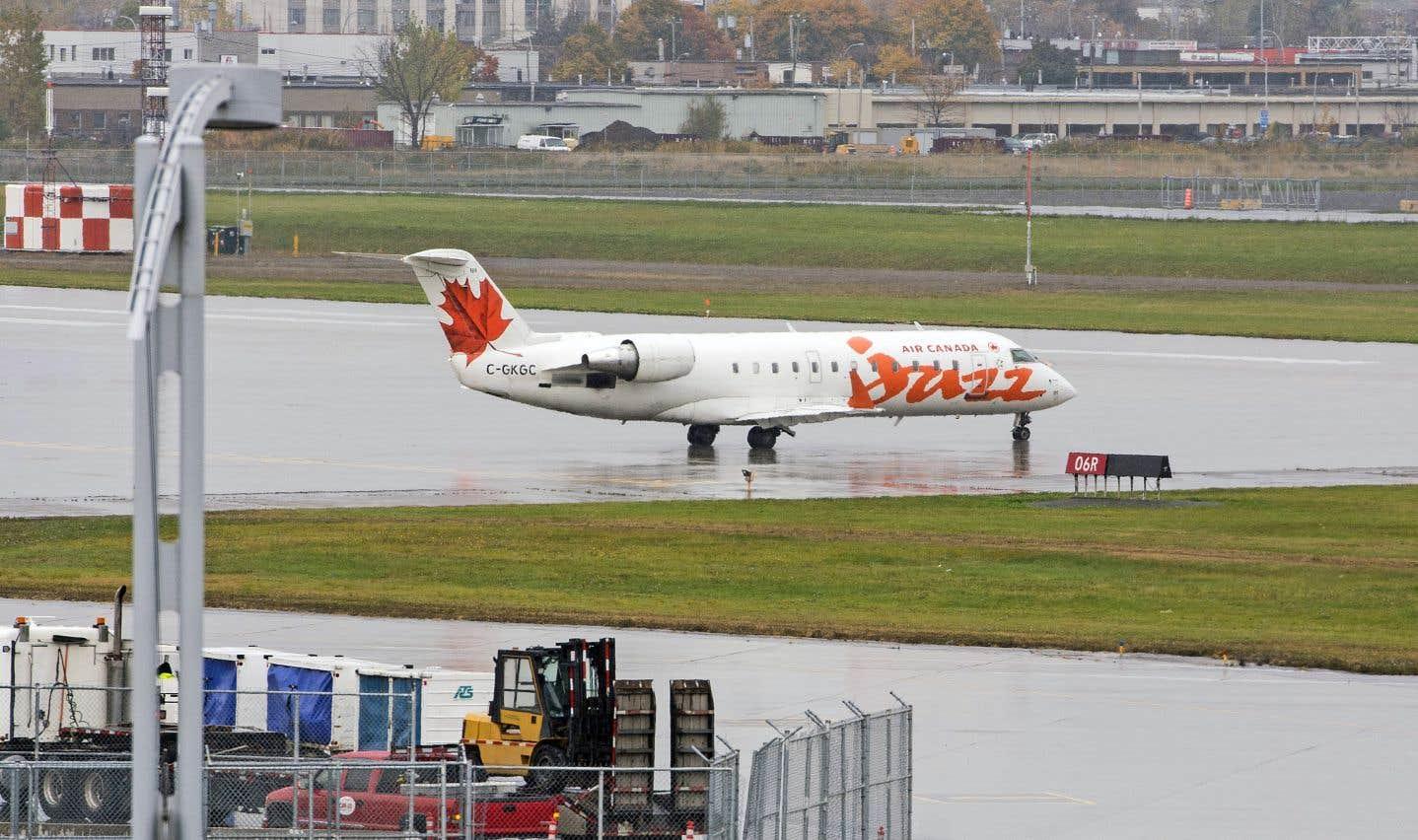 Un peu moins de 70% des destinations au Québec ne sont desservies que par Air Canada.