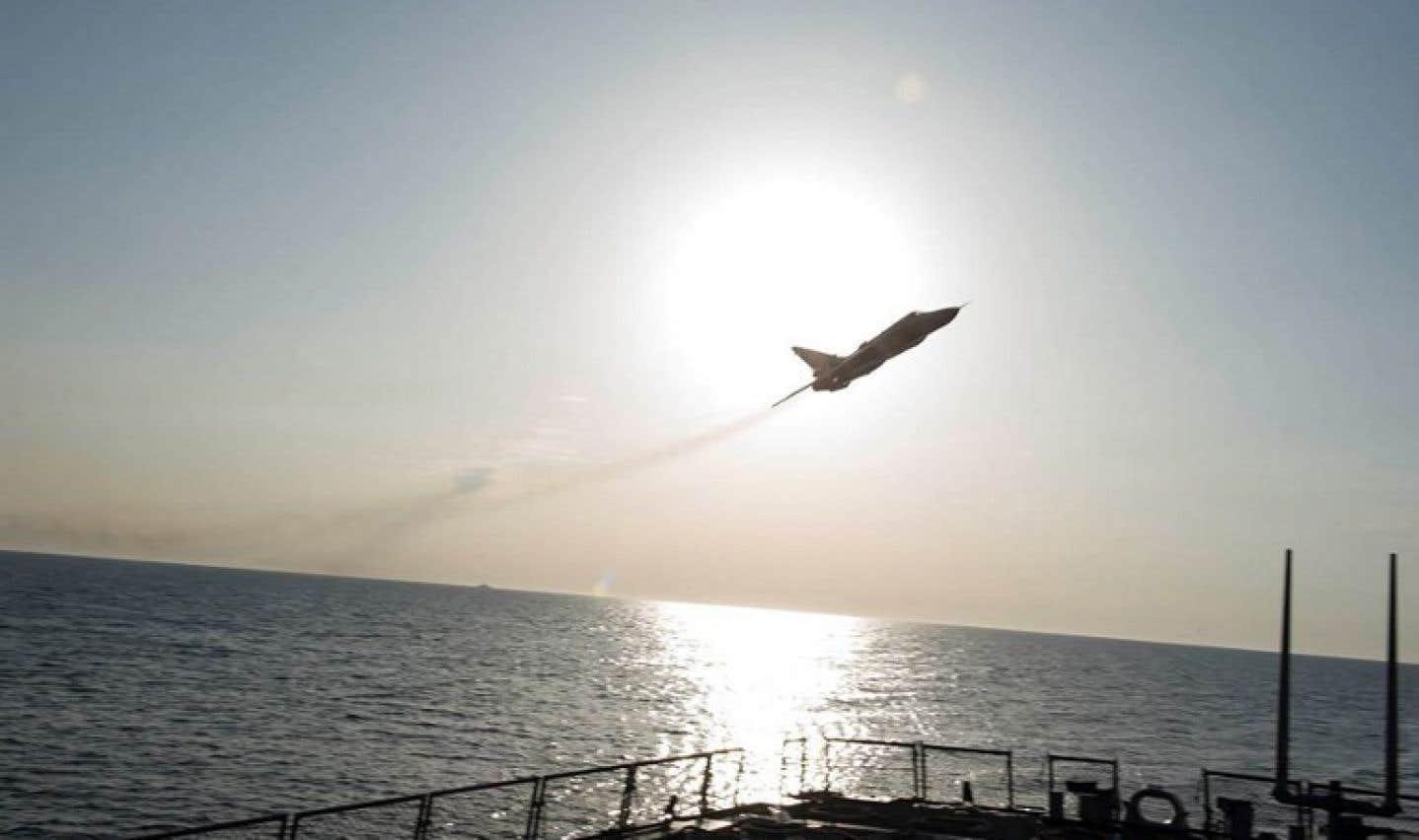 Un avion russe abattu par un groupe djihadiste en Syrie