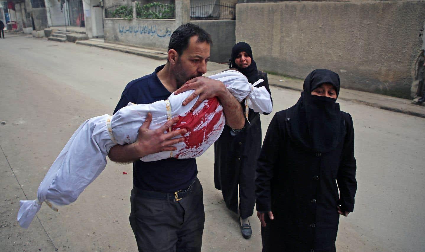Une journée meurtrière en Syrie