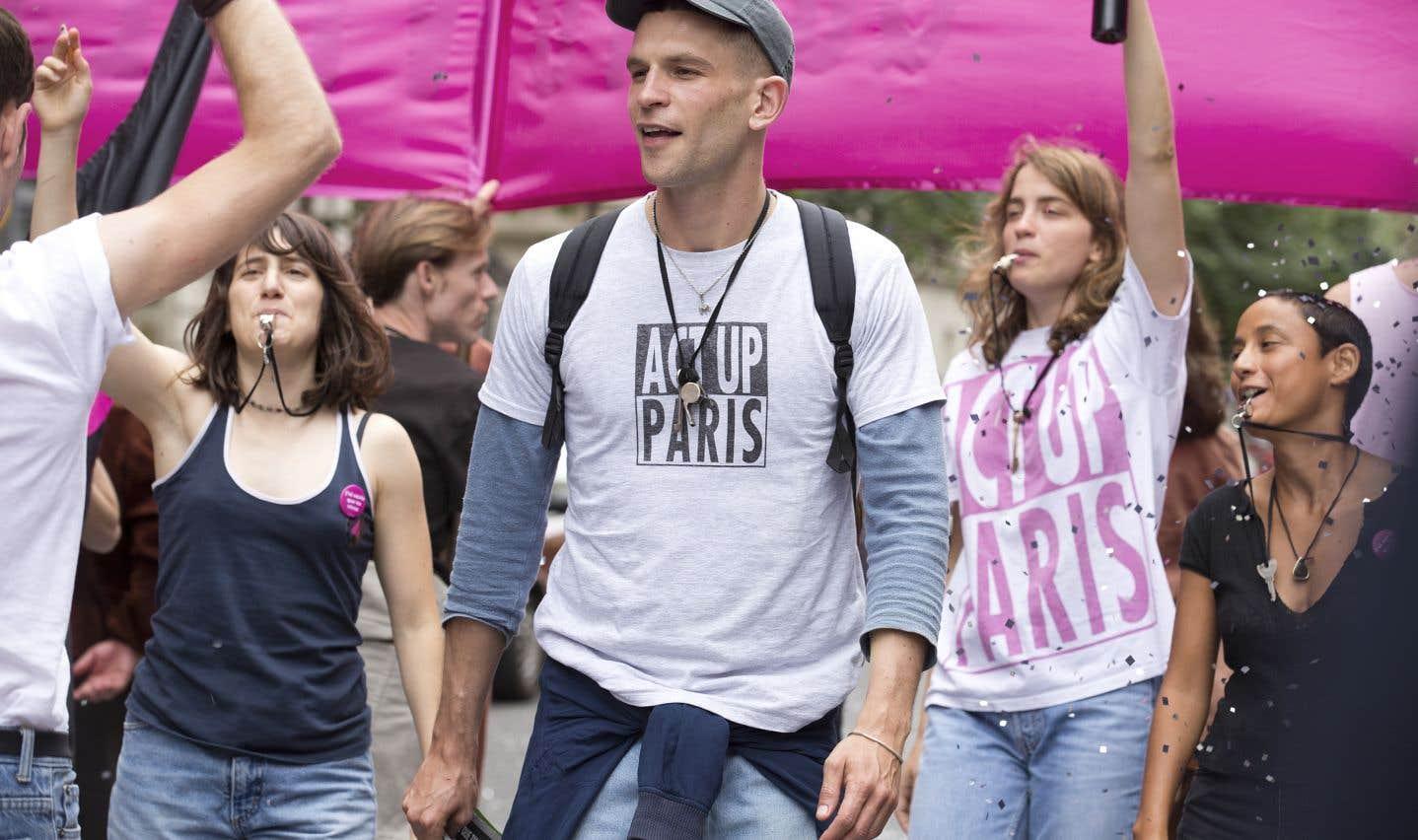 Le film «120 battements par minute» consacré par les prix Lumières en France