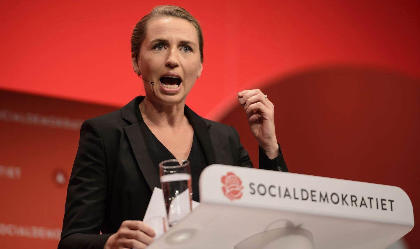 La chef de Socialdemokratiet, Mette Frederiksen