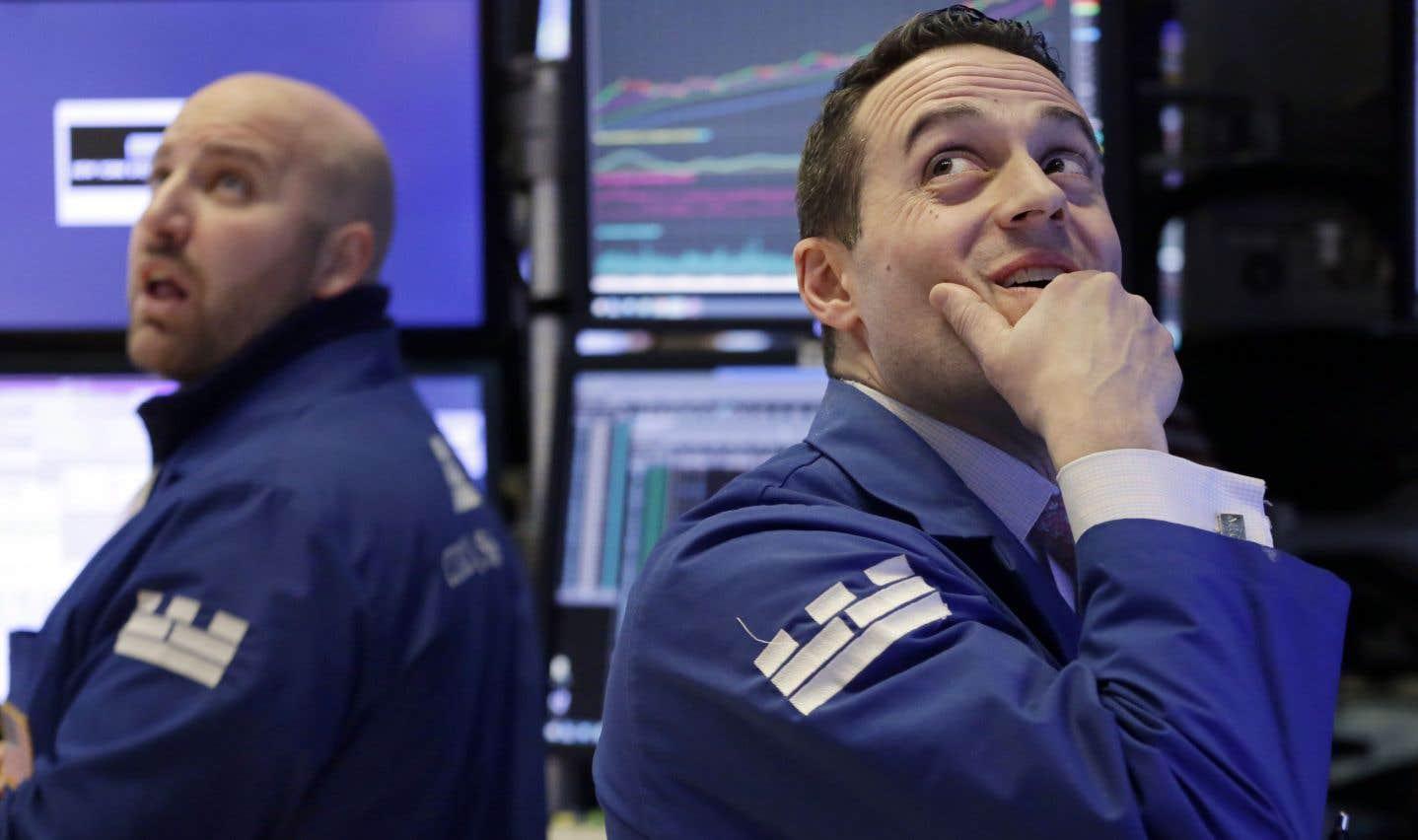 La glissade de Wall Street prend des proportions émotives