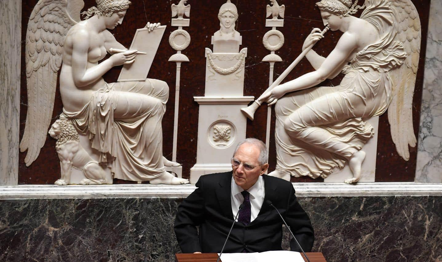 L'ex-titulaire du poste des Finances, Wolfgang Schaüble