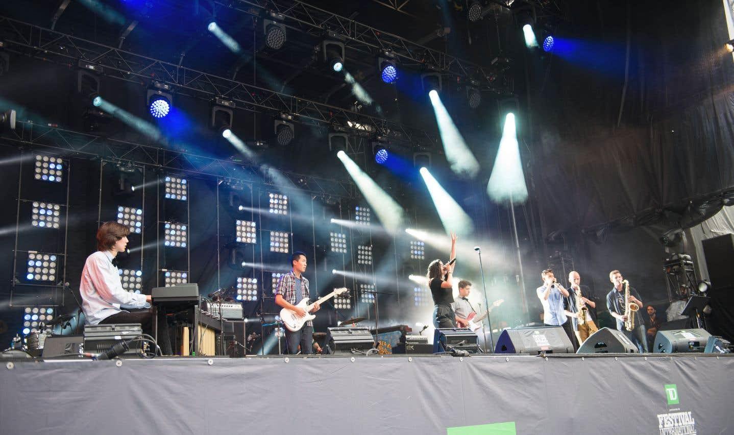 Le Camp Blues de l'Équipe Spectra donnera la chance à quelques dizaines de jeunes musiciens de jouer sur la scène principale du Festival de jazz de Montréal en juillet prochain.
