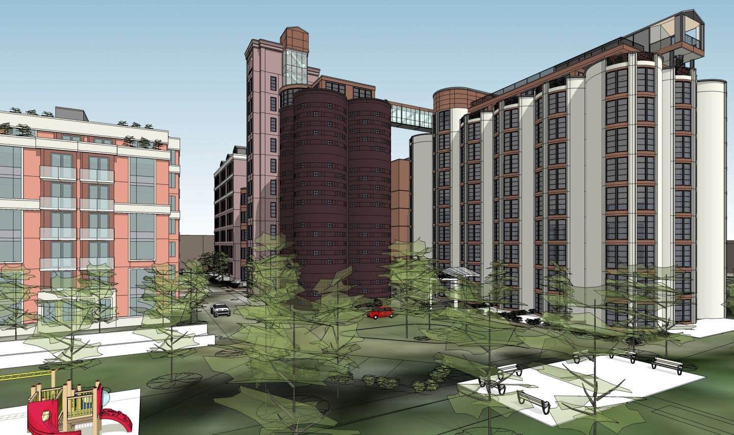 Le projet prévoit notamment d'inclure des logements sociaux et familiaux.
