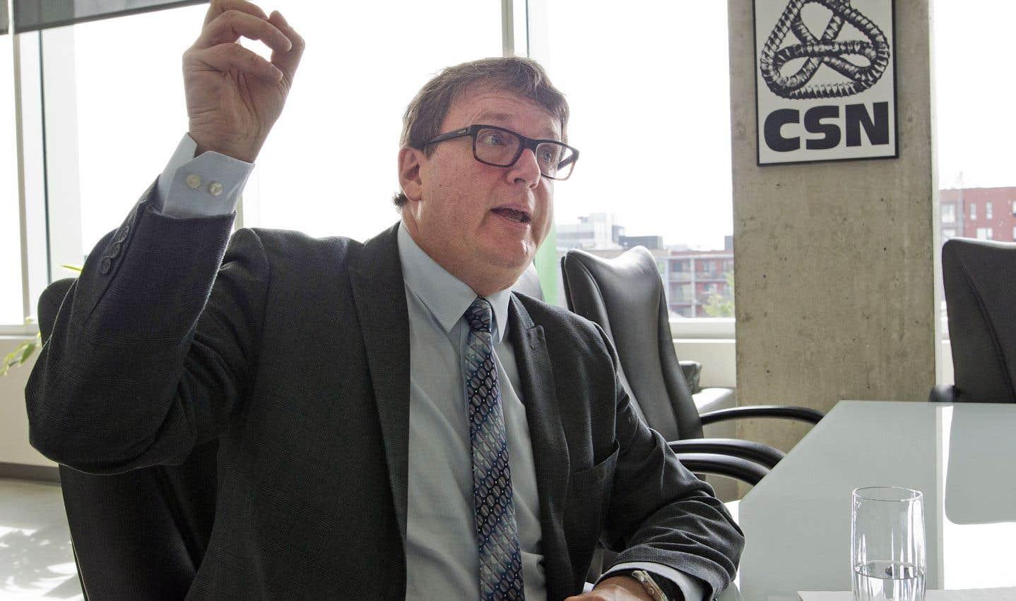 Le président de la CSN, Jacques Létourneau, s'inquiète de la disparité des services de garde au Québec.