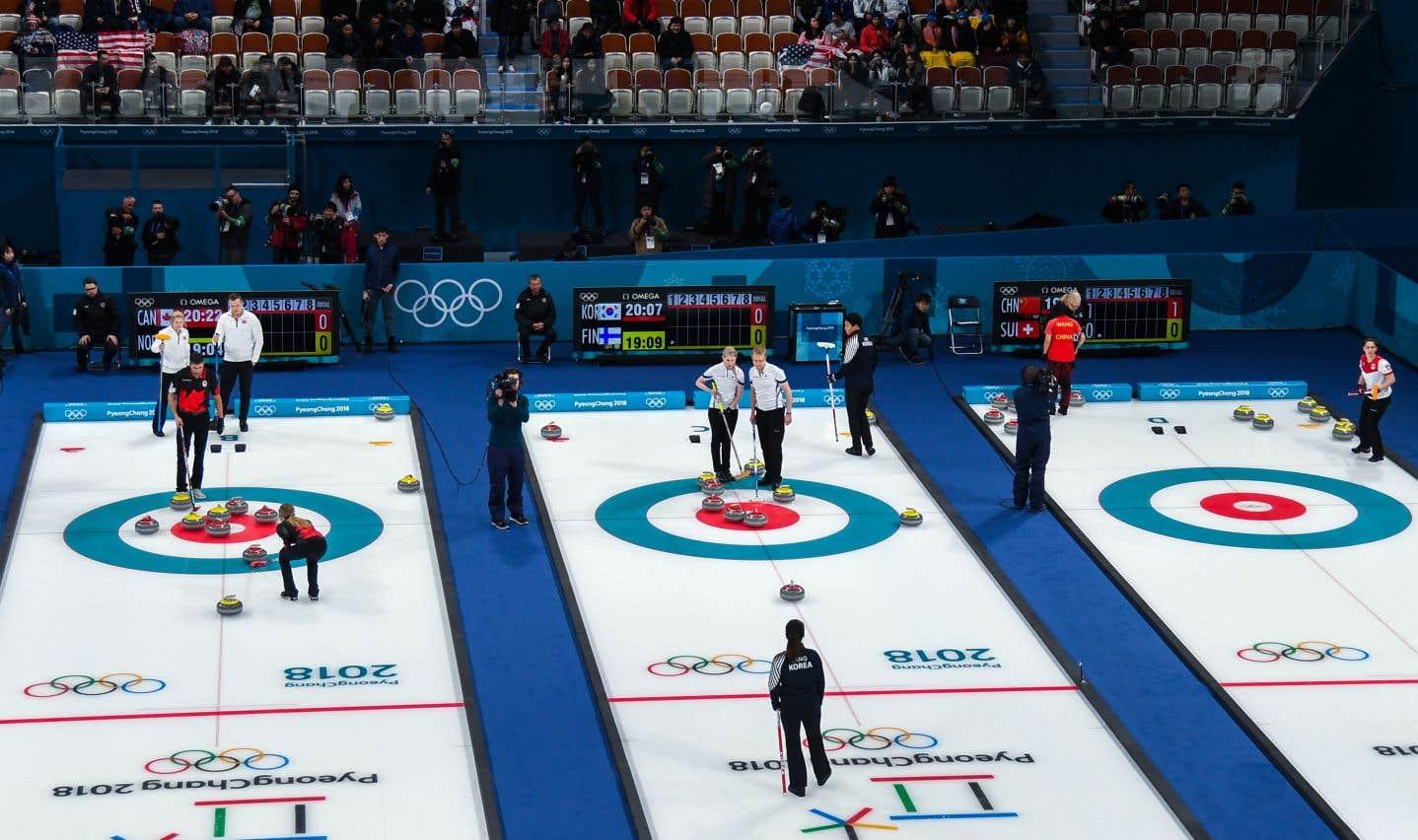Le curling donne le coup d'envoi des compétitions à Pyeongchang