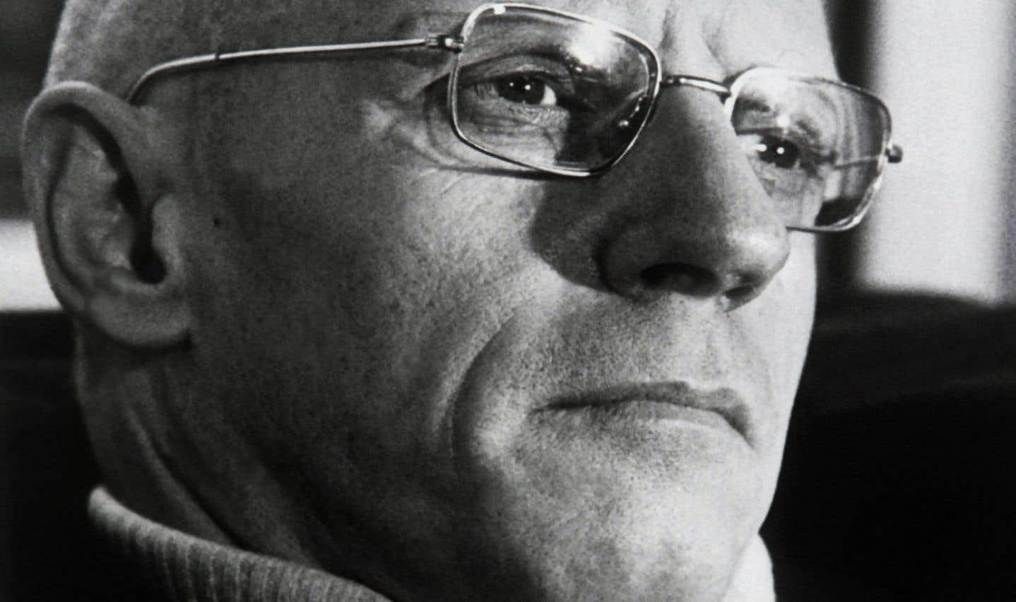 Le philisophe français Michel Foucault, en 1982