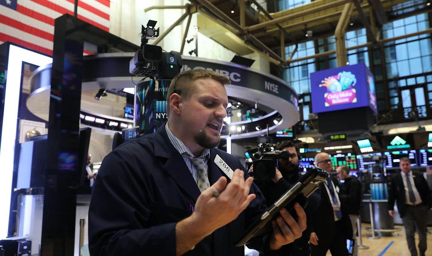 Comment de bonnes nouvelles économiques font chuter les Bourses