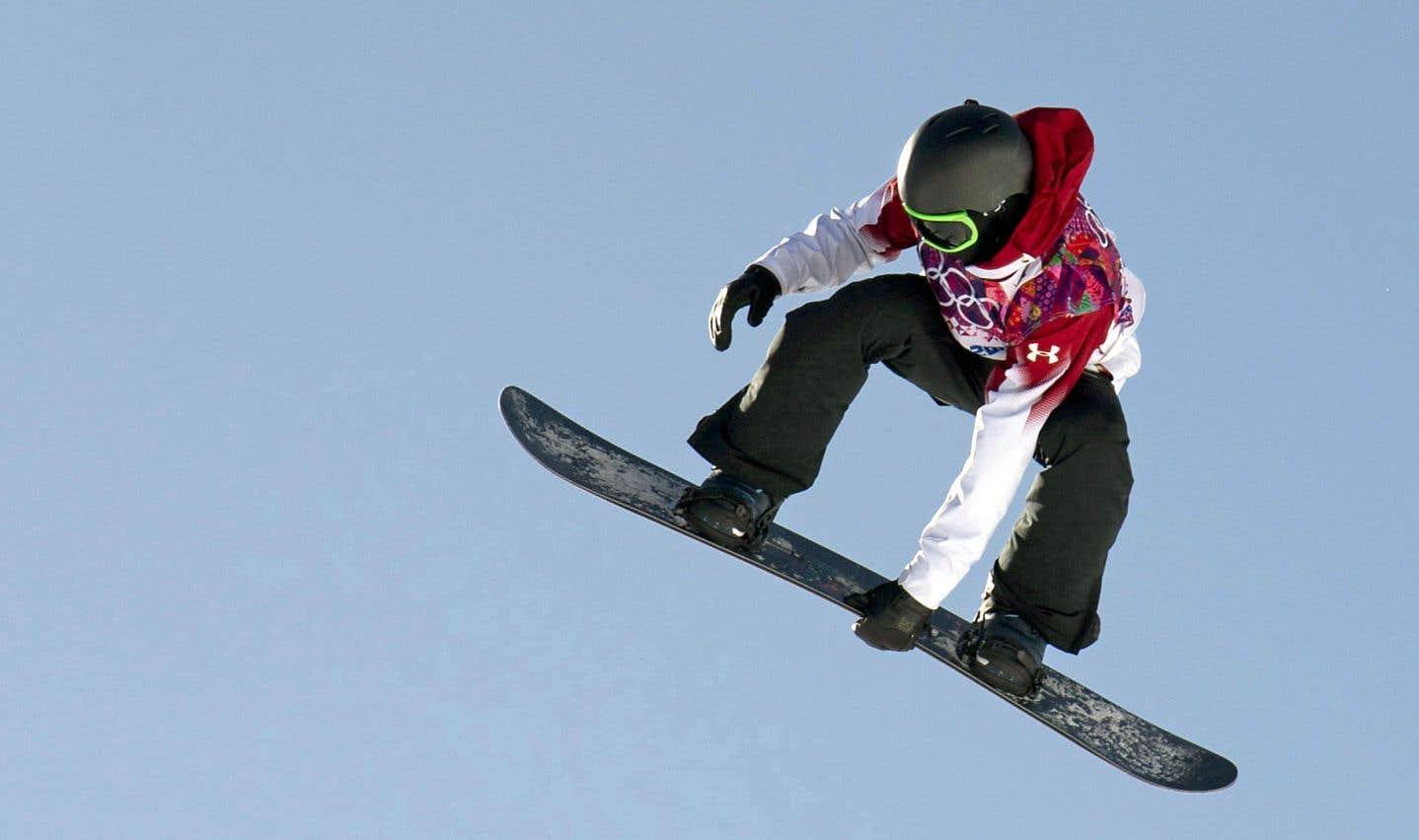 Le big air, l'une des nouvelles épreuves des Jeux