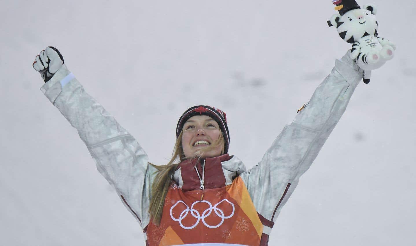Justine Dufour-Lapointe remporte l'argent à Pyeongchang