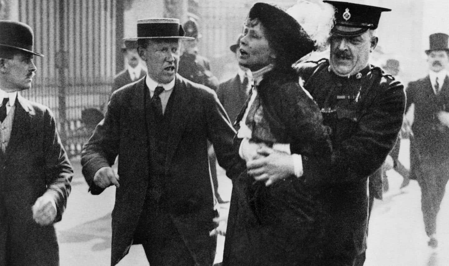 Il y a 100ans, les suffragettes remportaient leur lutte