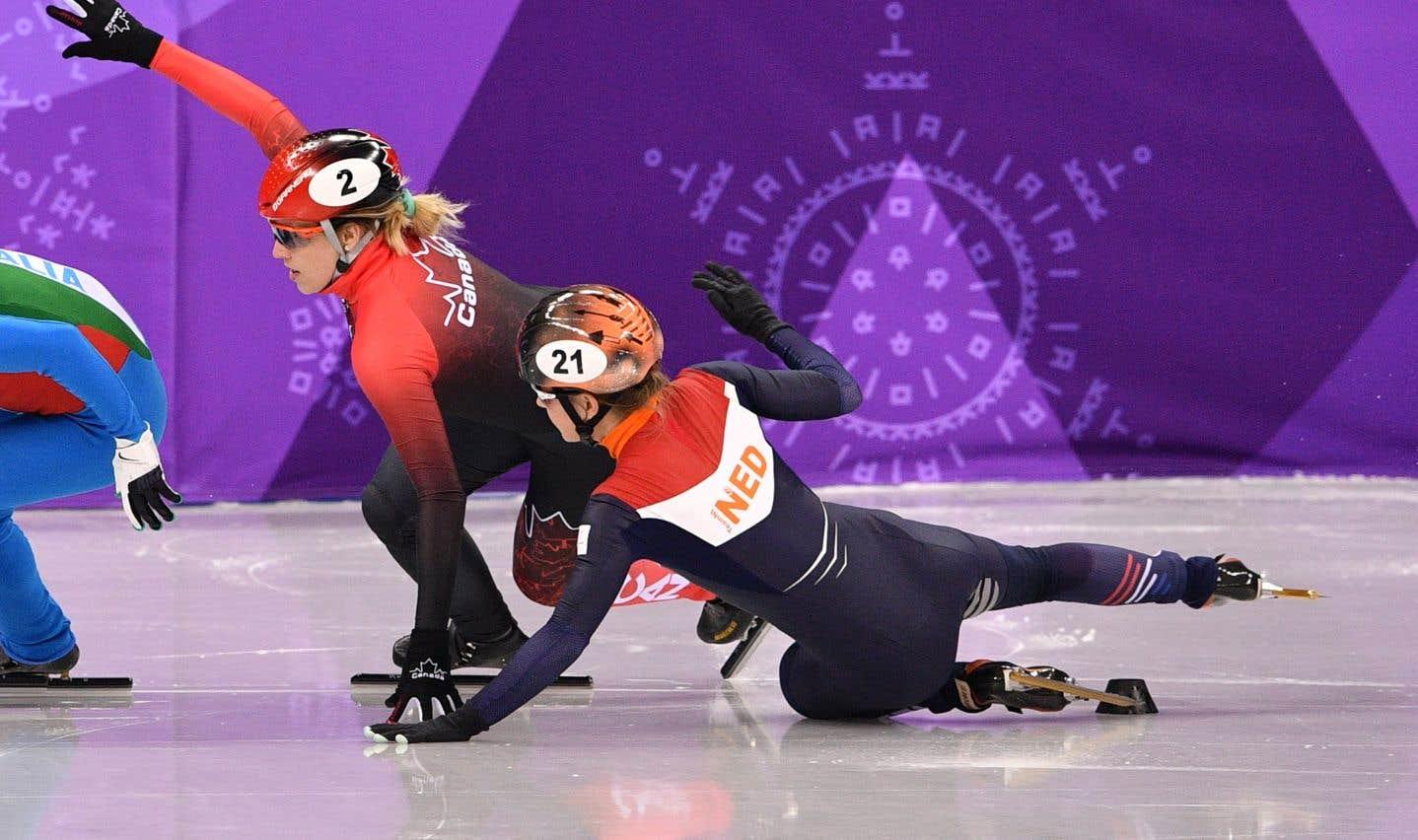 Marianne St-Gelais disqualifiée aux qualifications du 500 m