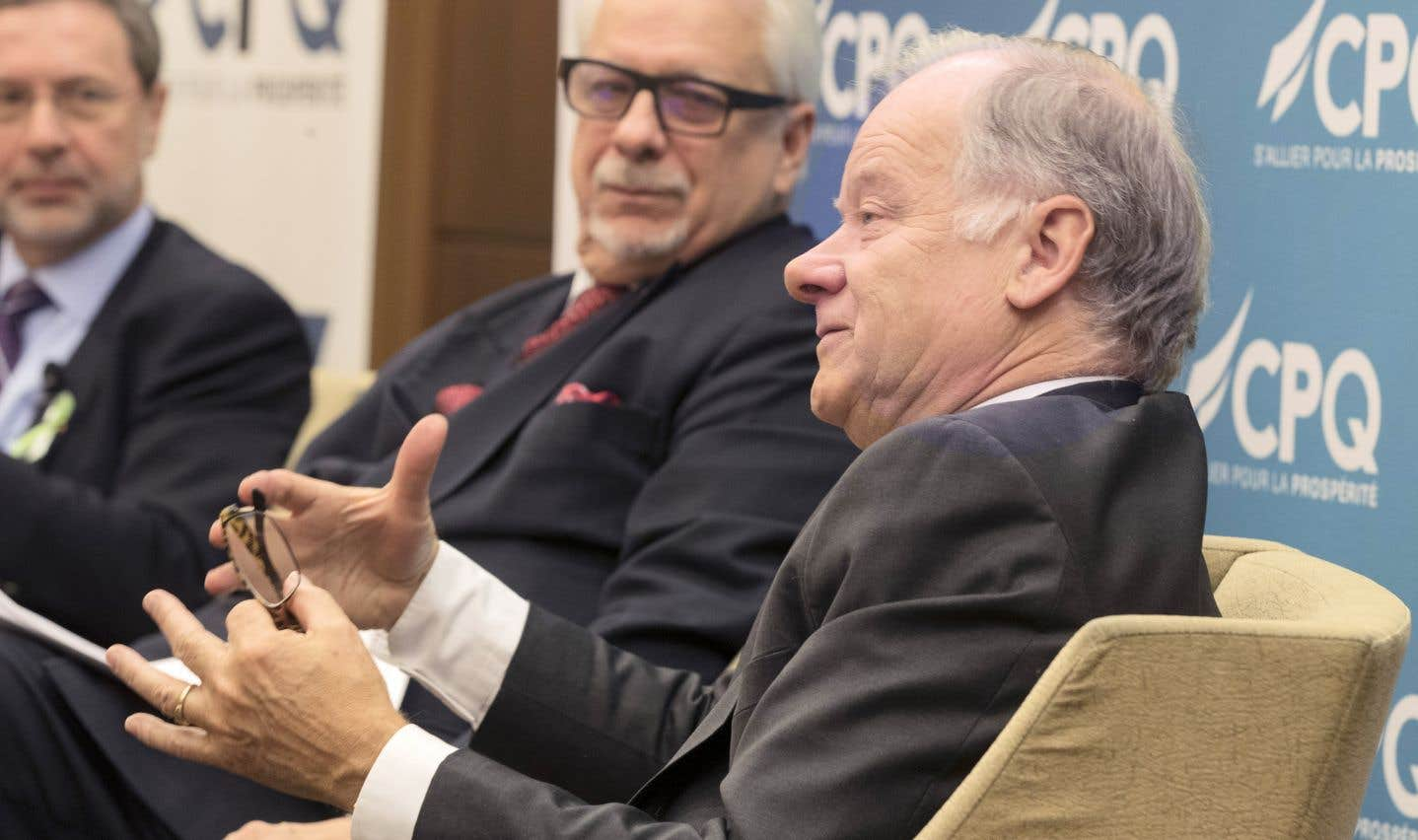 «Il n'y a pas un gouverneur des États-Unis, pas un sénateur qui veut mettre fin à l'ALENA, zéro», a affirmé le négociateur du Québec, Raymond Bachand.