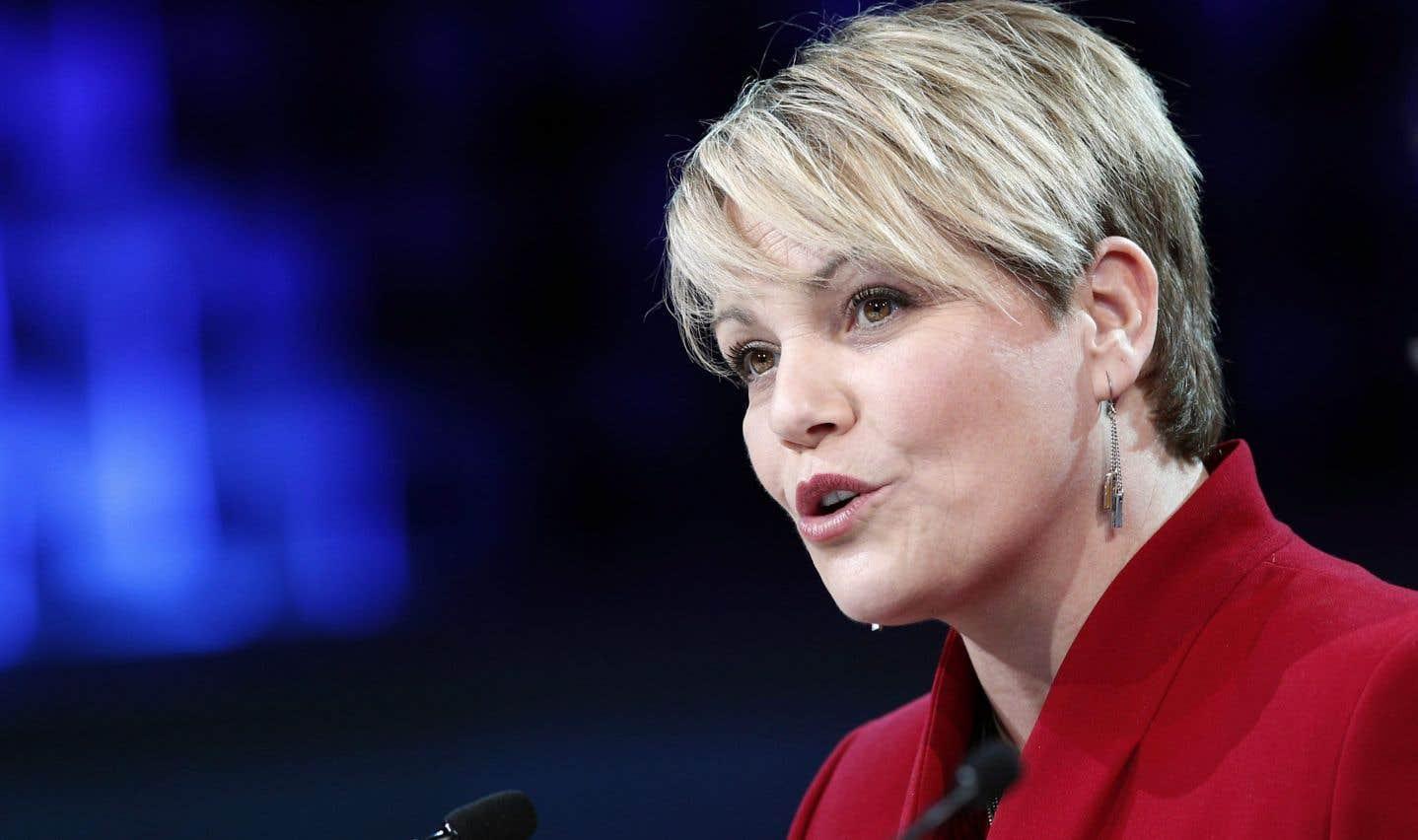 La ministre de l'Environnement, Isabelle Melançon