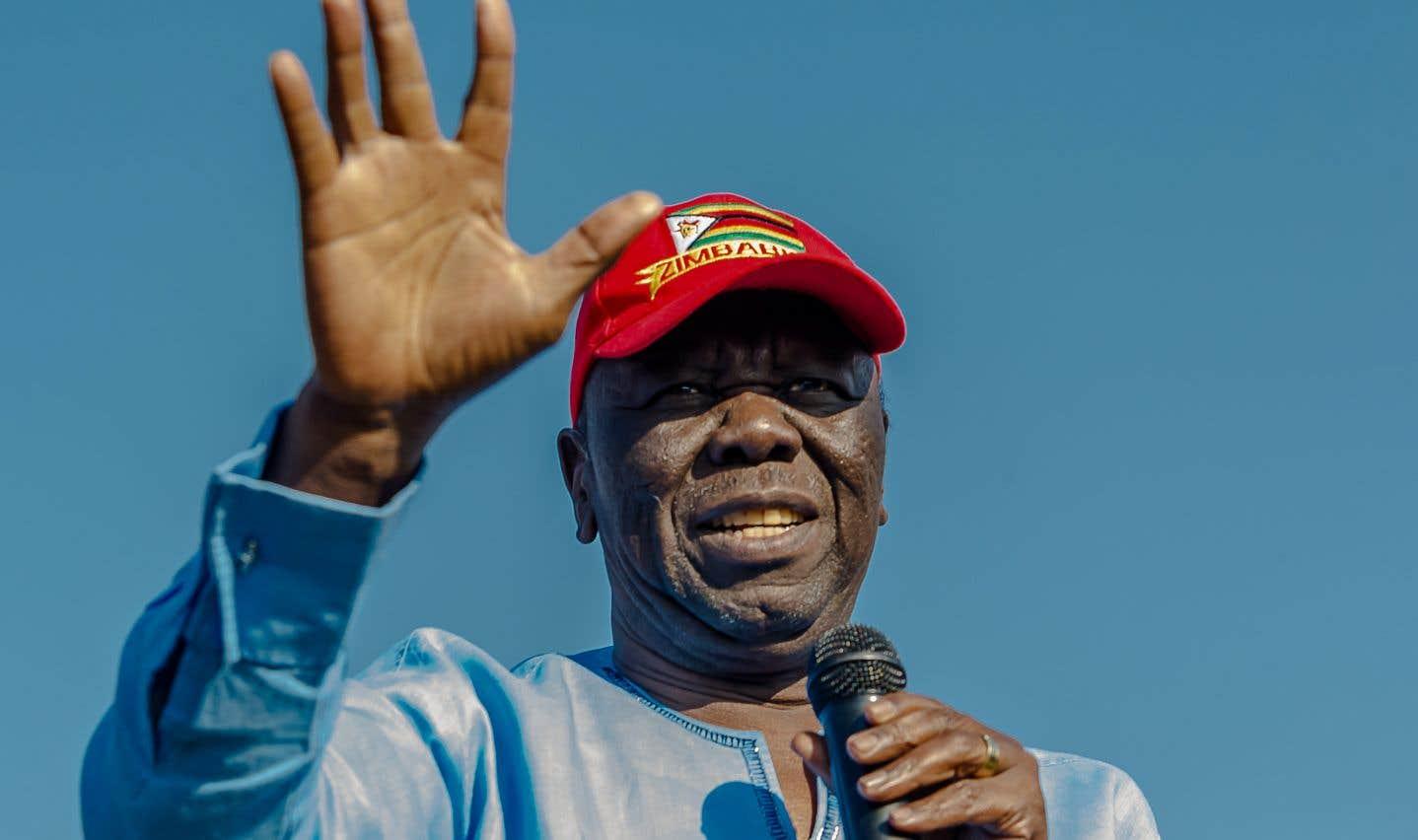 Morgan Tsvangirai se présentait comme l'anti-Mugabe.
