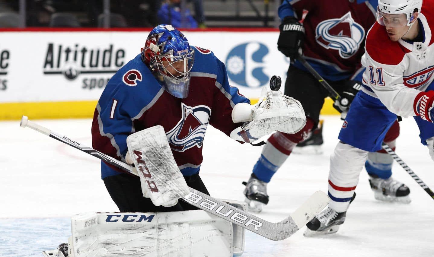 Le gardien Semyon Varlamov a obtenu son deuxième blanchissage de la saisonet son 23een carrière.