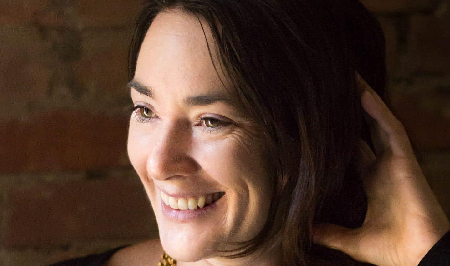 La romancière Isabelle Jubinville