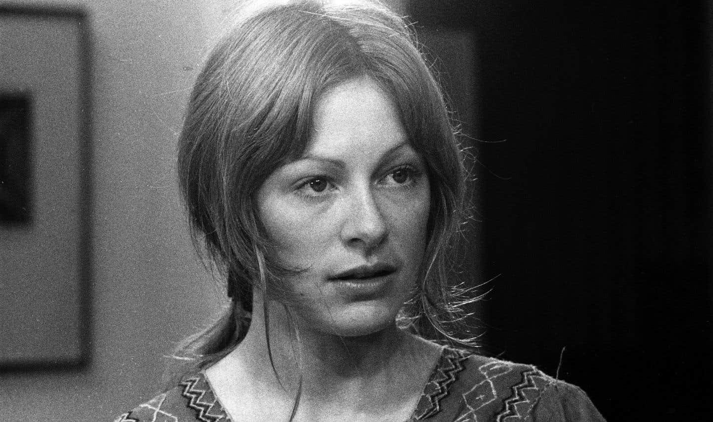 Micheline Lanctôt dans une scène du film «Souris, tu m'inquiètes», réalisé en 1973