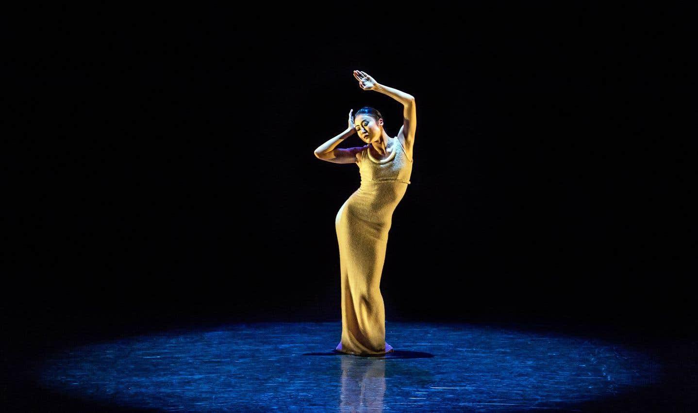 «Ekstasis», interprété par la danseuse PeiJu Chien-Pott