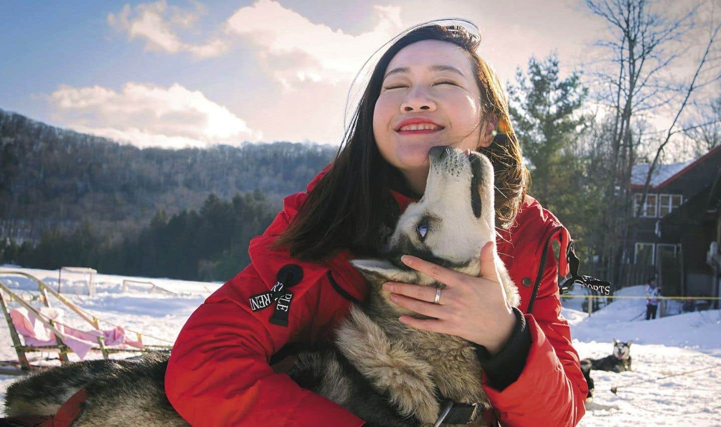 Plus de 170 000 Chinois ont visité le Québec l'an dernier, soit 50% de plus qu'en 2016. L'industrie veut profiter de cet engouement pour promouvoir auprès de cette clientèle les charmes hivernaux du Québec.