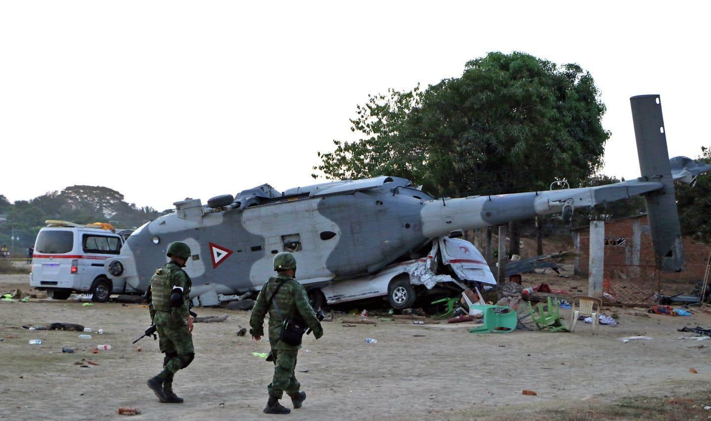 L'écrasement d'hélicoptère a fait au moins 13 morts.