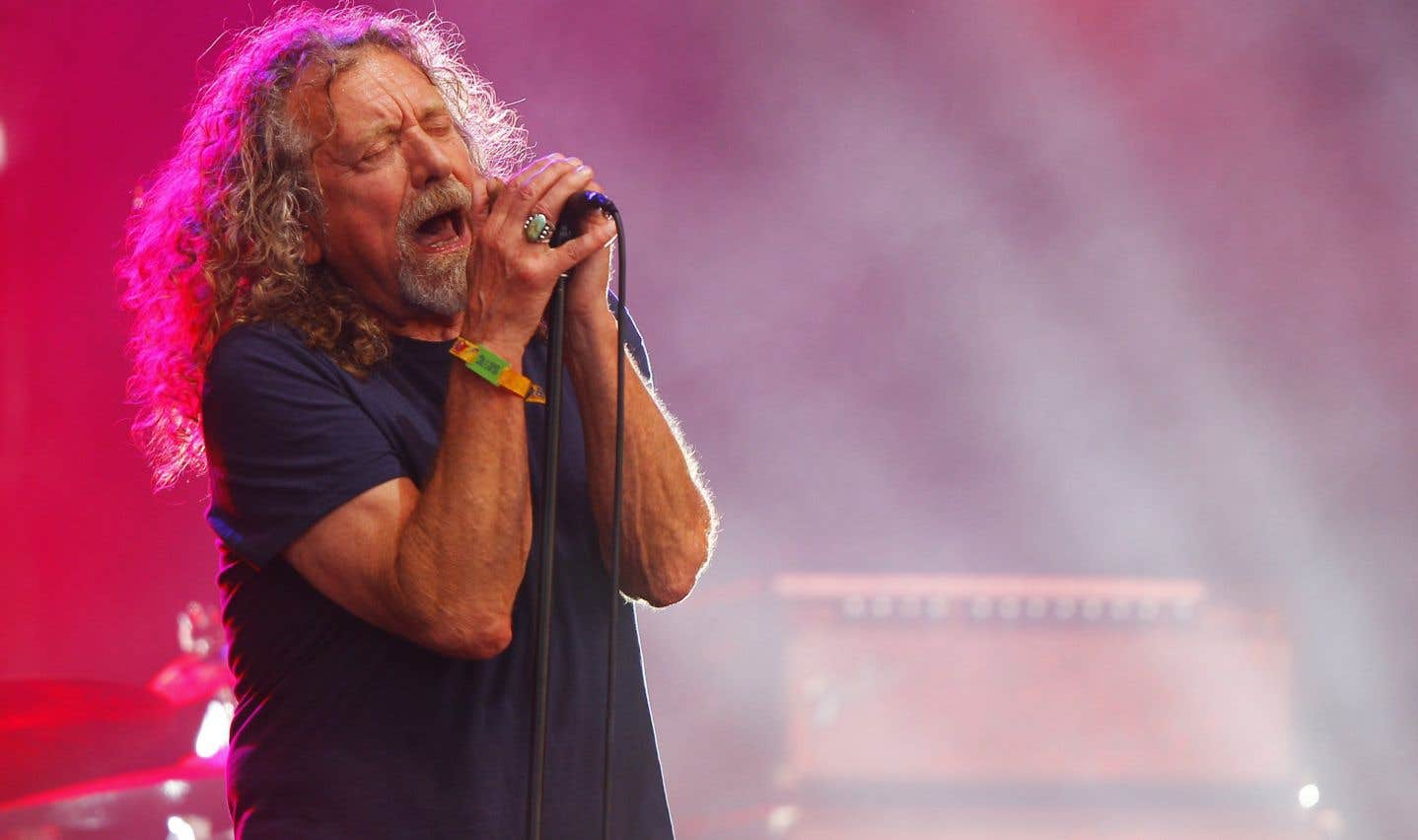 Robert Plant au festival Bonnaroo en 2015
