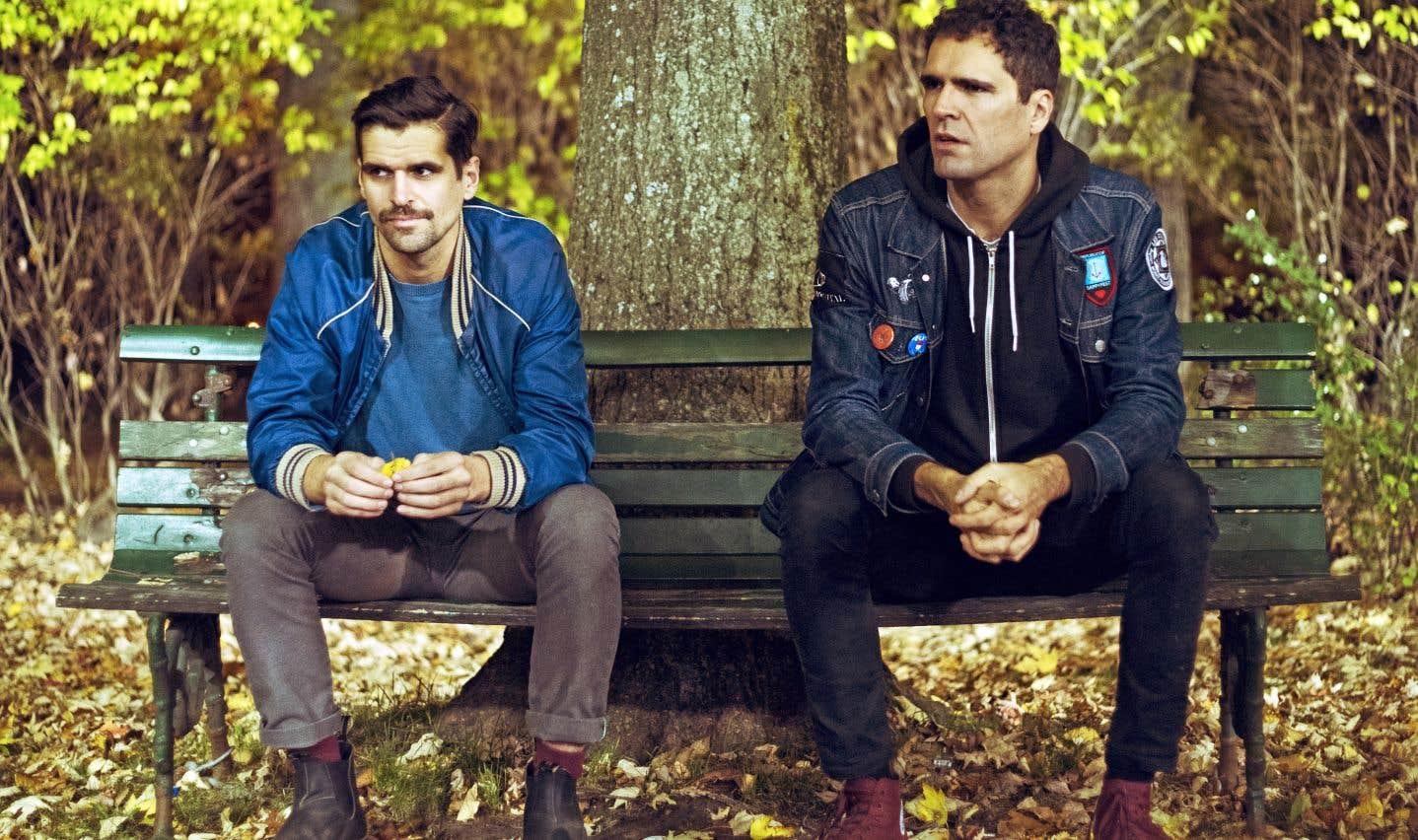 Les frères Guillaume et Maxime Chiasson composent le groupe Ponctuation.