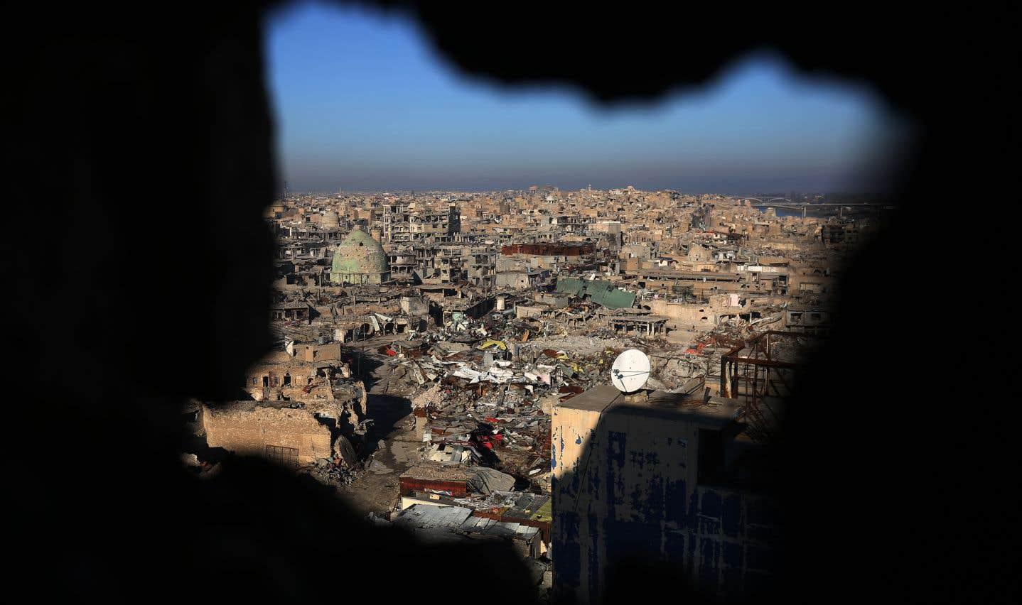 Certaines des accusées ont été arrêtées à Mossoul à la suite de la reprise de la ville par les forces irakiennes.