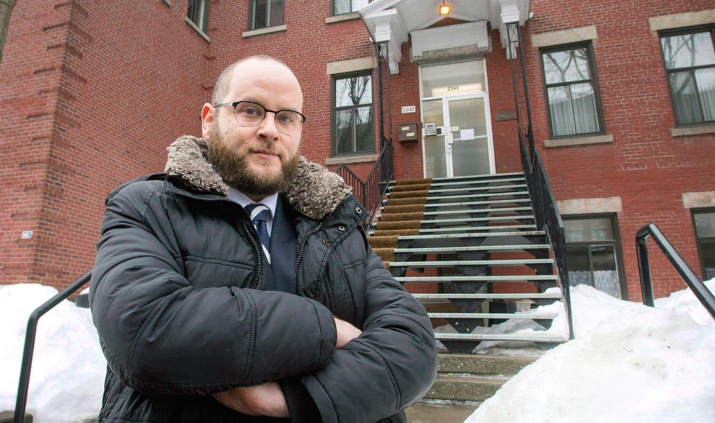 L'avocat du plaignant, Max Silverman