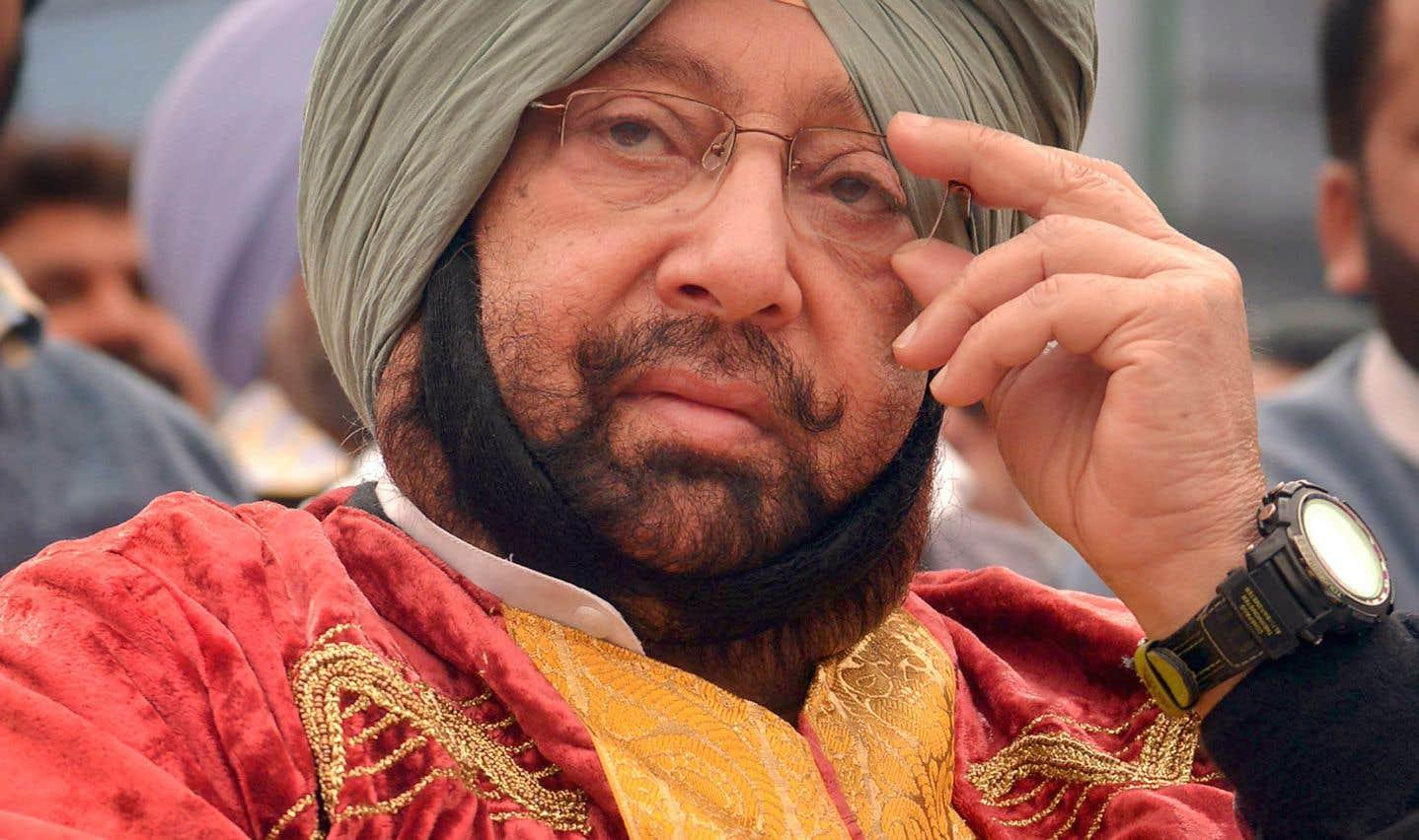 Le «ministre en chef» du Pendjab, Amarinder Singh
