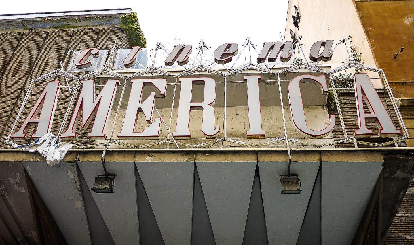 Le cinéma America en avril 2012, à Rome