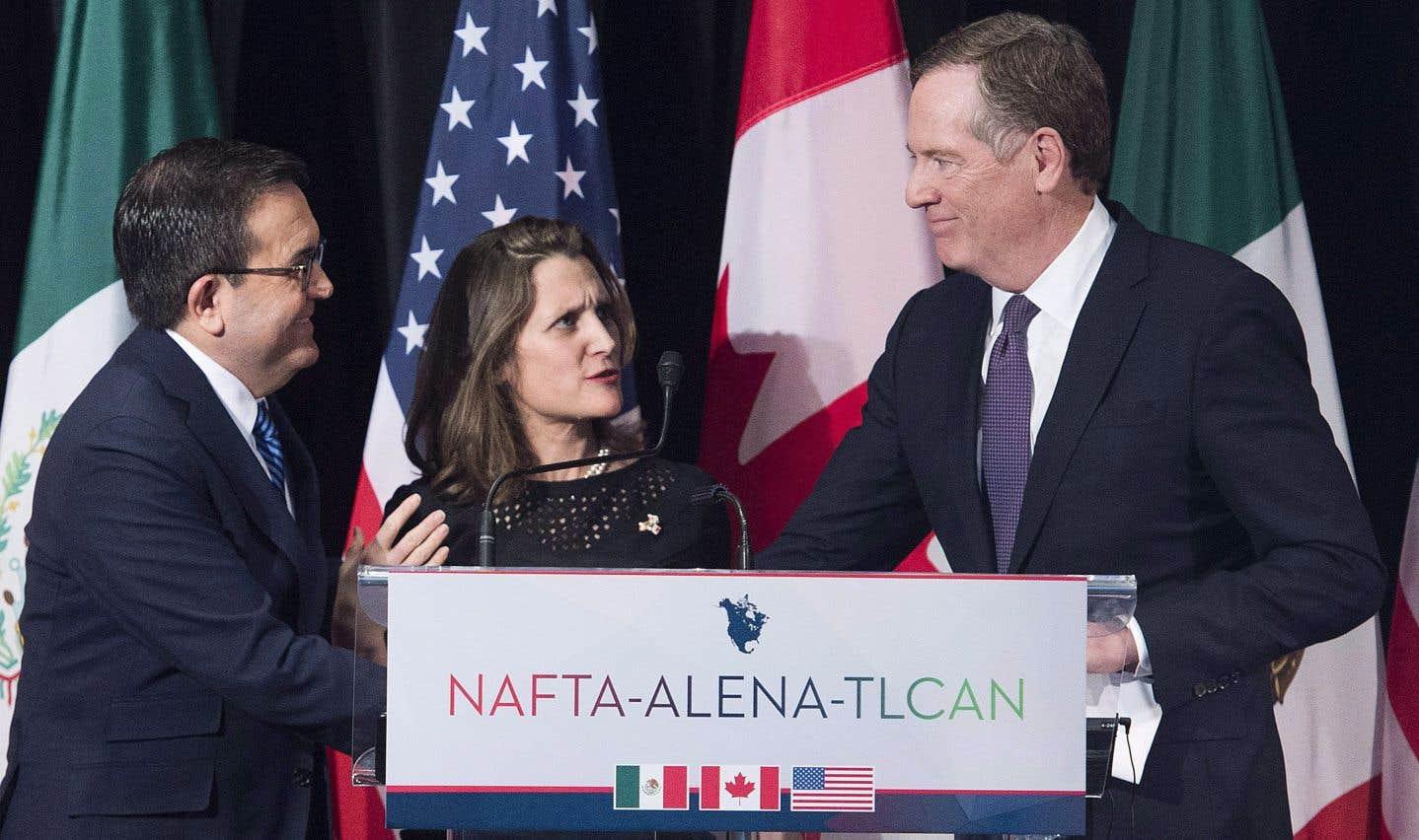 ALENA: les Canadiens ont bon espoir de pouvoir se défendre
