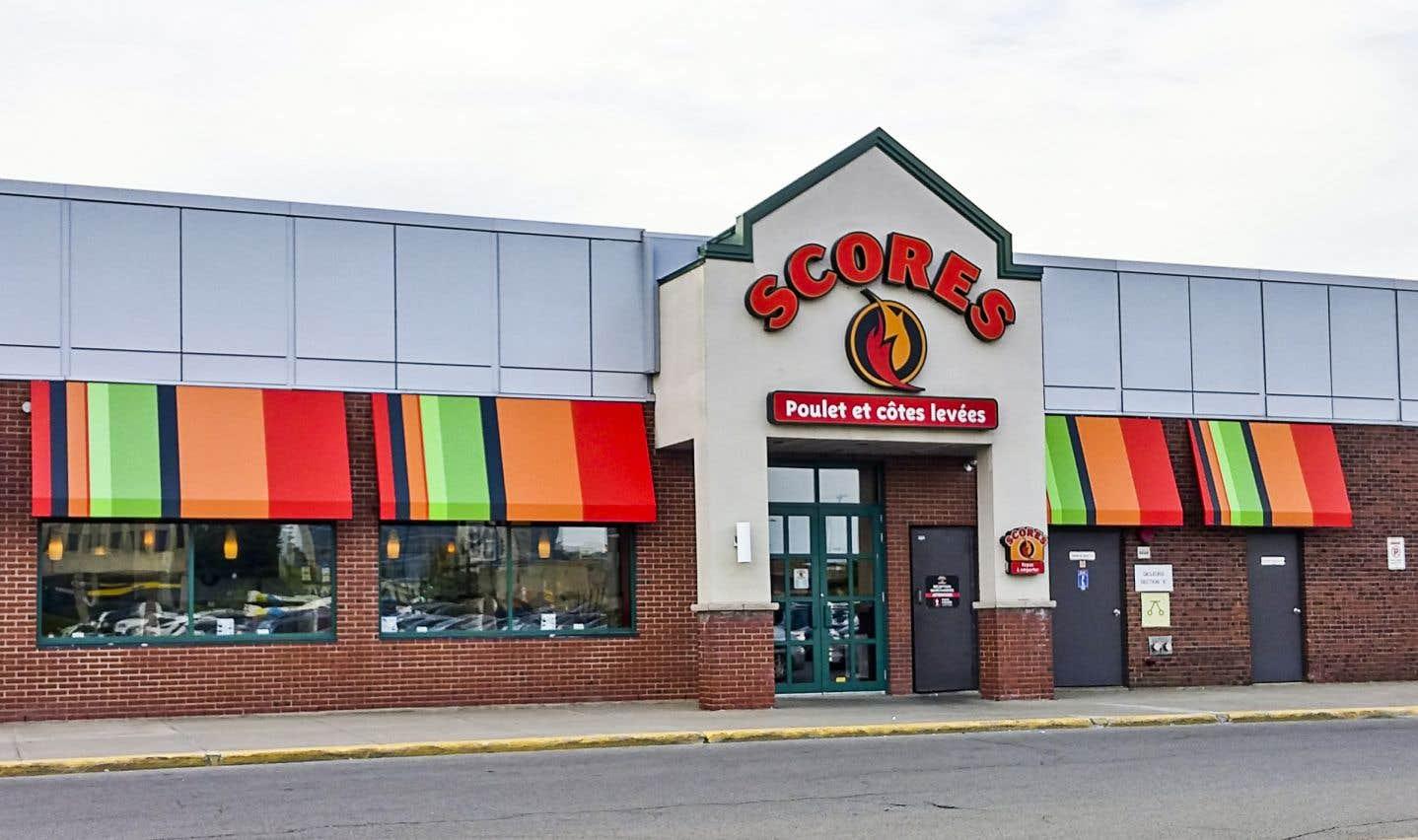 Le groupe Imvescor est notamment propriétaire des restaurants Scores.