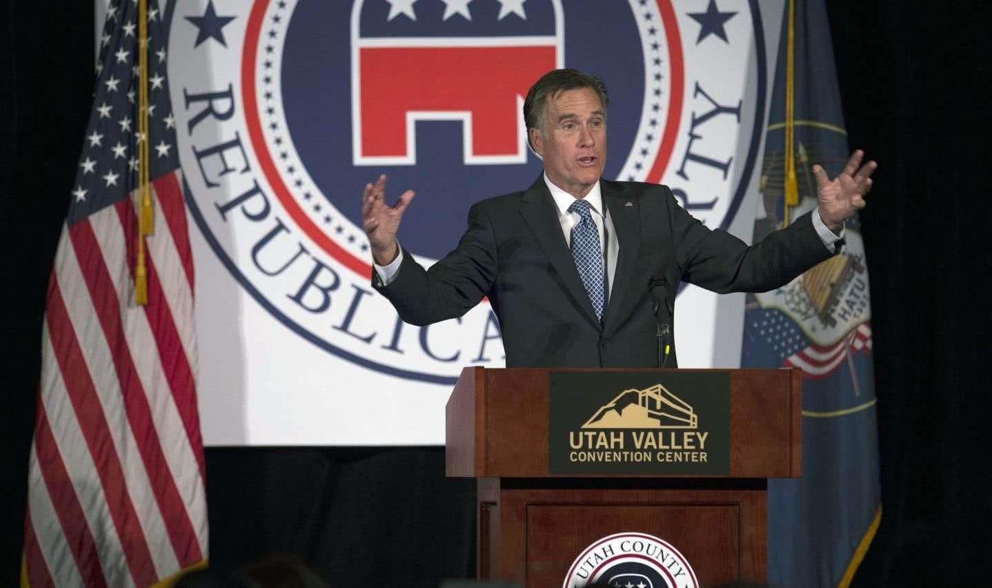 Mitt Romney, qui avait été battu par Barack Obama en 2012, a annoncé la semaine dernière sa candidature au Sénat, marquant ainsi son retour dans la vie politique américaine.