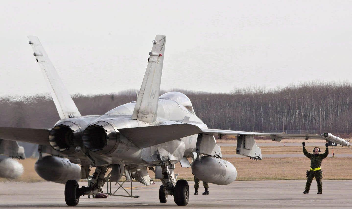 Le gouvernement Trudeau avait lancé un appel d'offres en bonne et due forme pour remplacer les CF-18 vieillissants par 88 nouveaux avions de chasse.