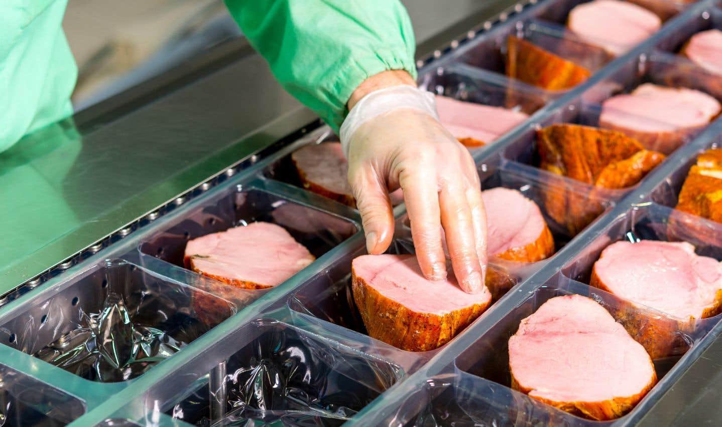 Olymel a exporté l'an dernier pour environ 1,45milliard de dollars de produits, principalement du porc.