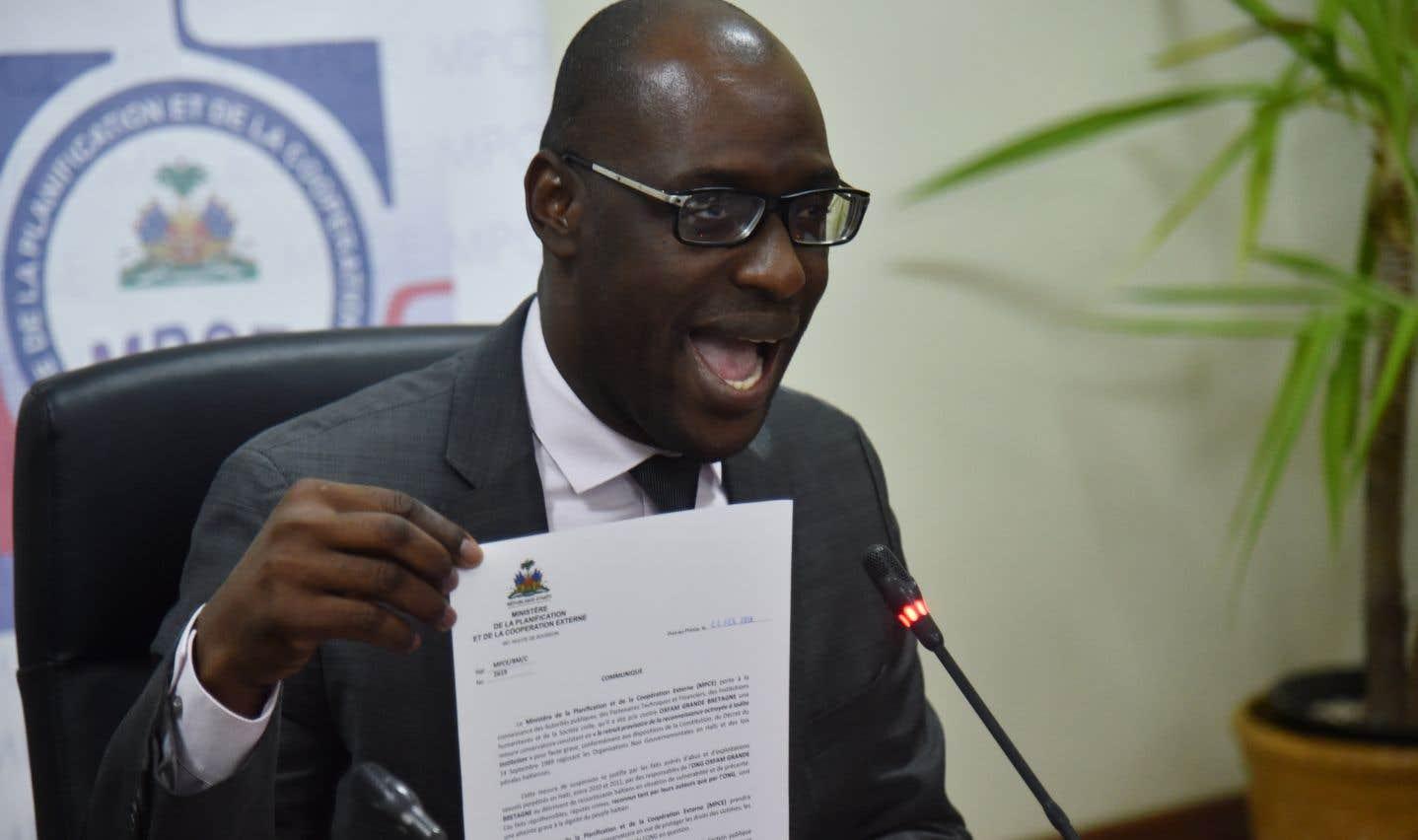 «Haïti n'est plus cette république d'ONG», a déclaré Aviol Fleurant, ministre haïtien de la Planification et de la Coopération externe.