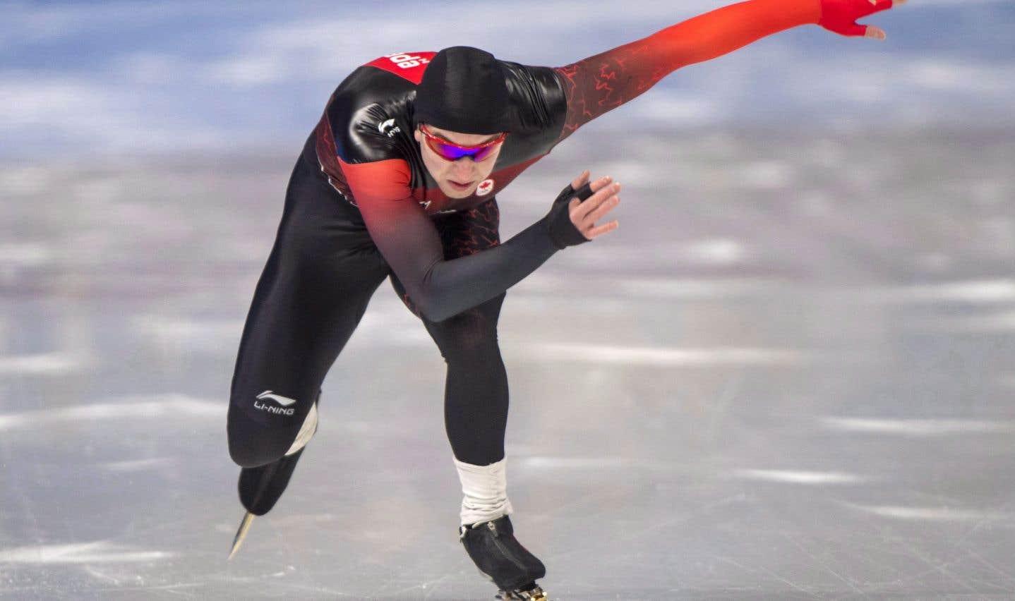 Alexandre St-Jean, de Québec, a pris le 11e rang avec un chrono d'une minute et 9,24 secondes (1:09,24).