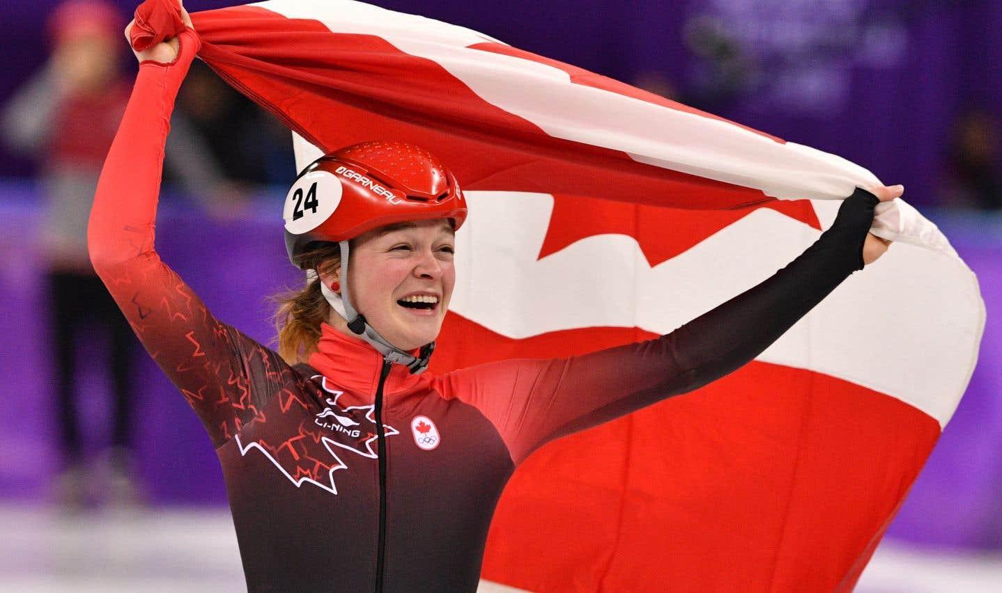 Kim Boutin est triple médaillée aux Jeux de Pyeongchang.