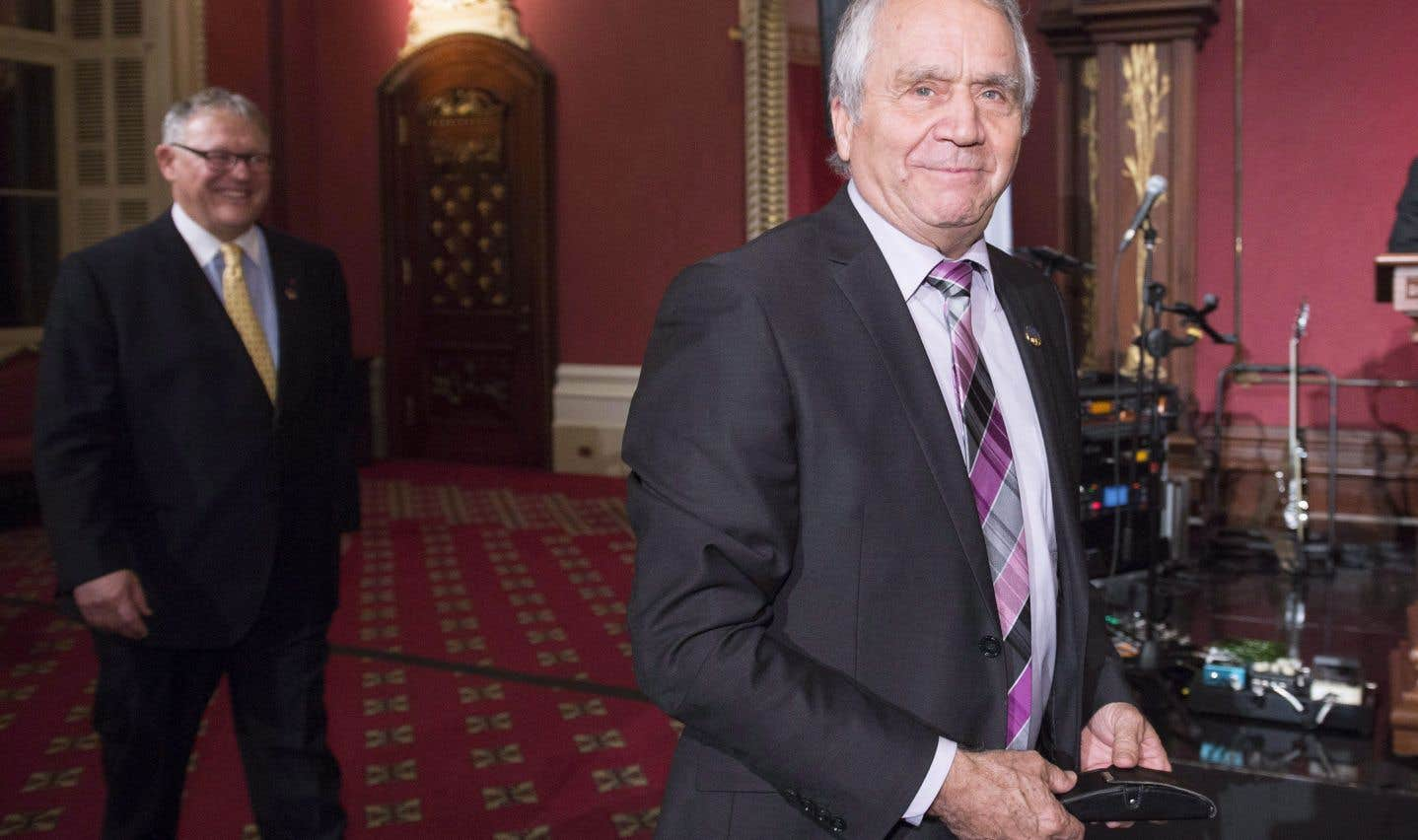 Le député péquiste François Gendron
