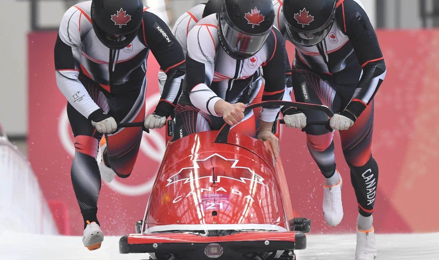 L'équipage canadien mené par Justin Kripps