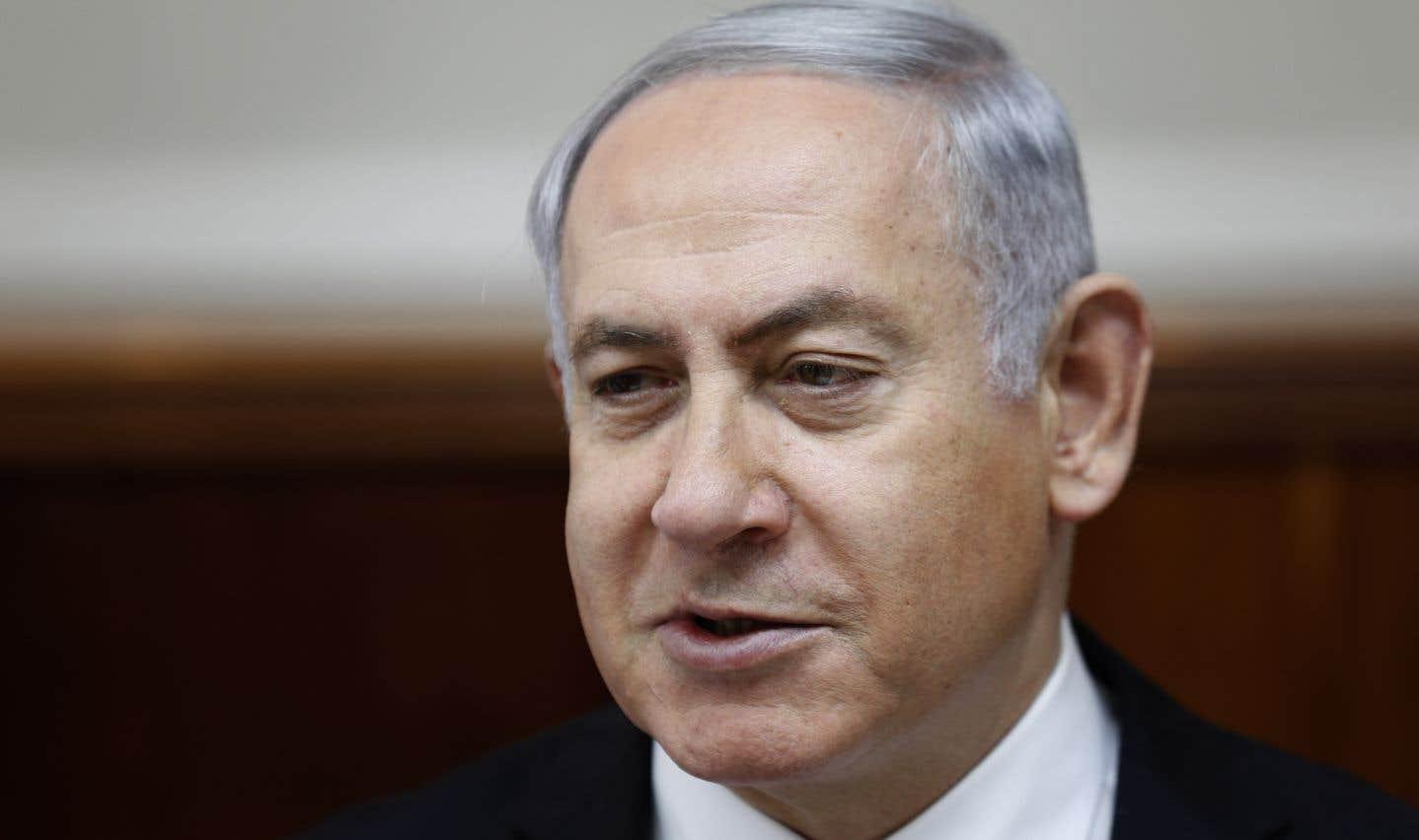 Le premier ministre israélien Benjamin Nétanyahou