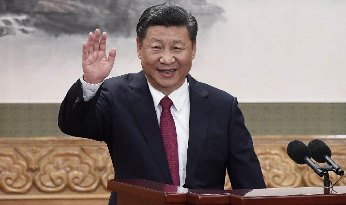 Le président de la République populaire, Xi Jinping