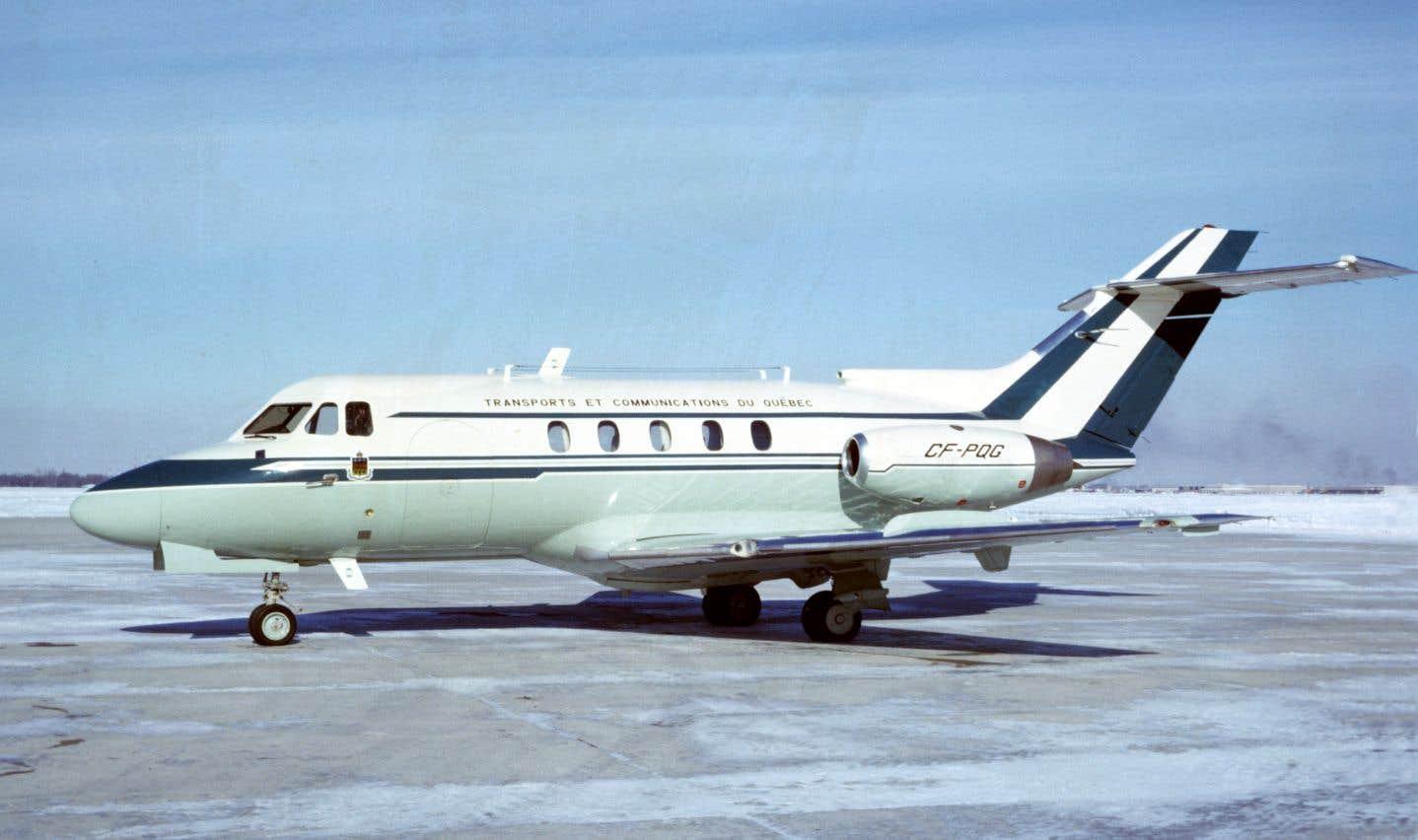 Filant à 740 km à l'heure, le «jet à Lesage» est, durant un quart de siècle, le modeste équivalent québécois du «Air Force One» américain.