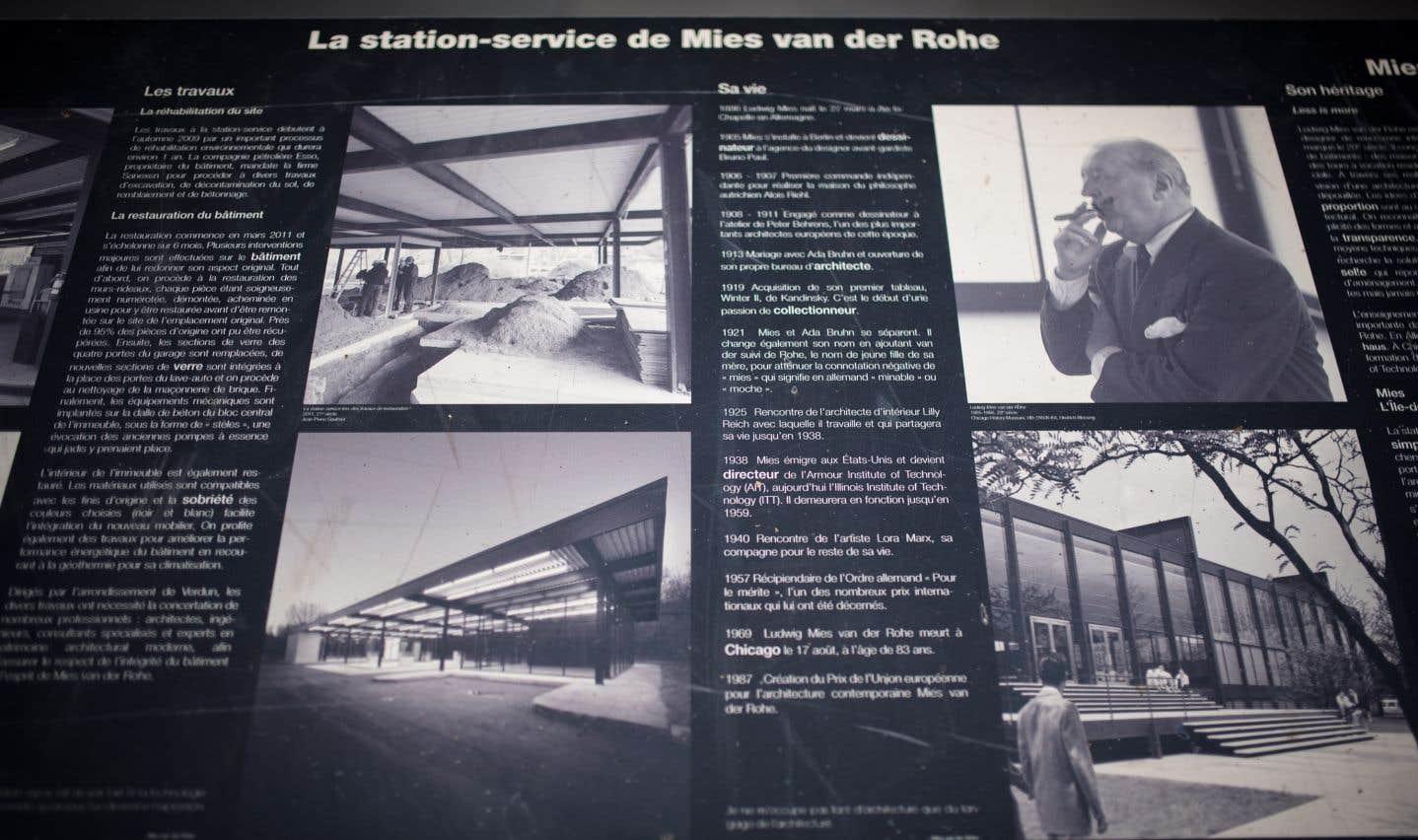Ludwig Mies van der Rohe aura apporté sa signature visuelle à quelque 45 bâtiments de Chicago et au Seagram Building de New York.